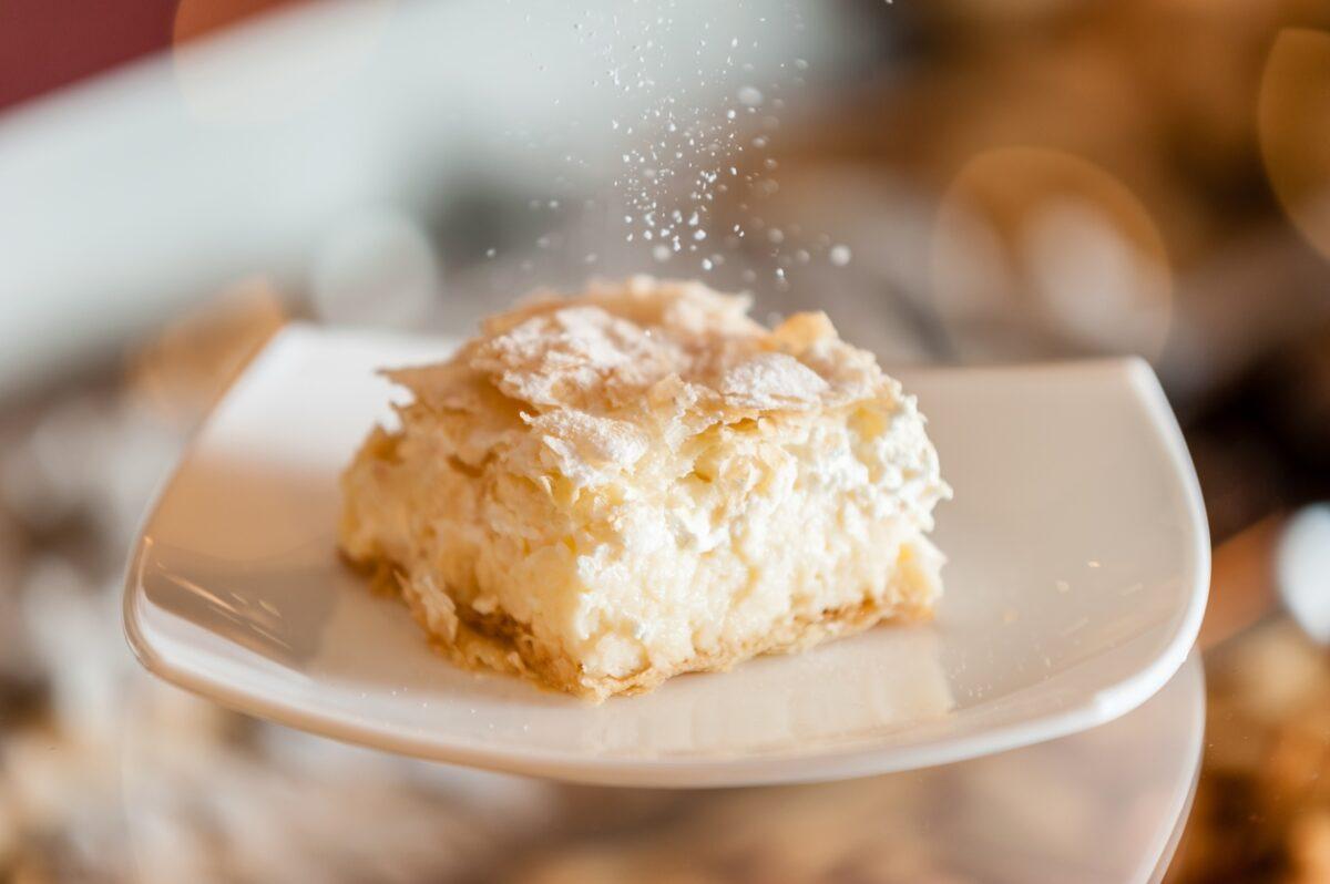 Торт из рикотты и кокоса